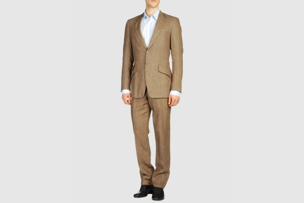 Paul Smith Brown Linen Suit Paul Smith Brown Linen Suit