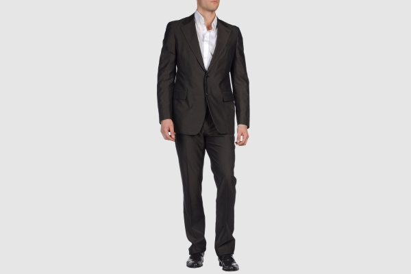 Prada Black Cotton Suit Prada Black Cotton Suit