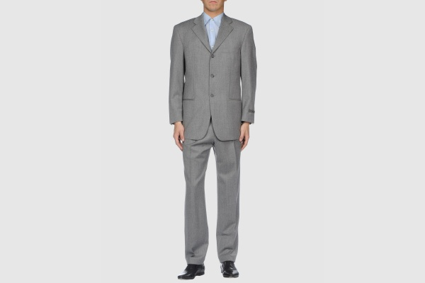 Strellson Grey Wool Suit Strellson Grey Wool Suit