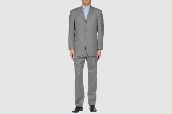 Strellson Grey Wool Suit Strellson Grey Wool Suit