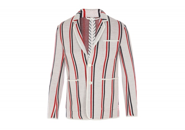 Thom Browne Striped Merino Blazer 1 Thom Browne Striped Merino Blazer
