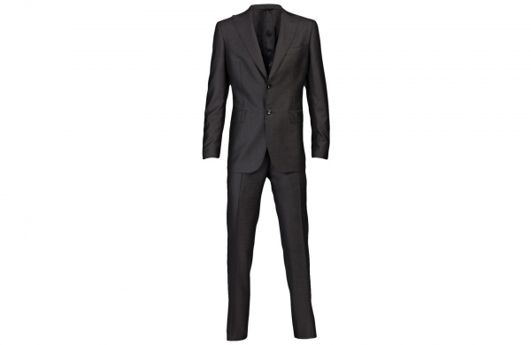 Tonello Charcoal Two Piece Suit 1 Tonello Charcoal Two Piece Suit