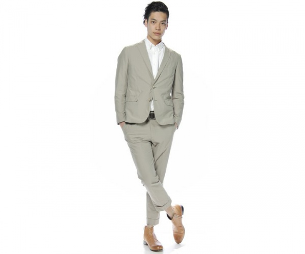 United Arrows White Label Beige Suit 1 United Arrows White Label Beige Suit