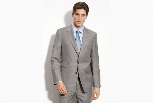 Zaharoff Grey Wool Suit Zaharoff Grey Wool Suit