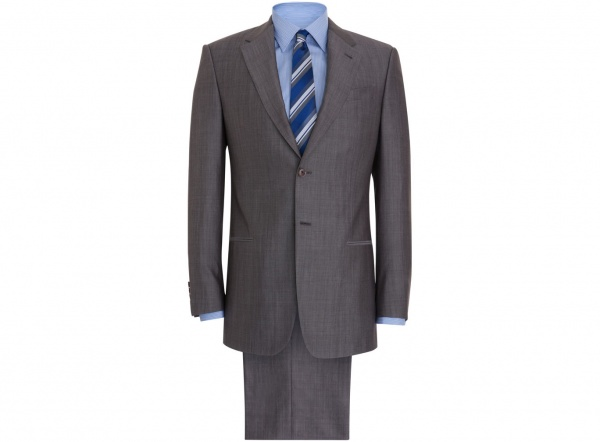 Armani Collezioni Nail Head Executive Suit 1 Armani Collezioni Nail Head Executive Suit