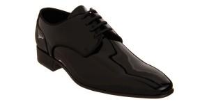 Barneys New York Patent Leather Blucher