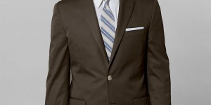 Brooks Brothers Cotton Twill Fitzgerald Fit Suit