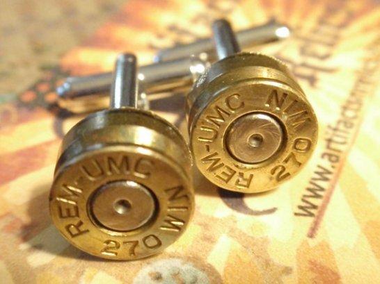 Bullet Shell Cufflinks Bullet Shell Cufflinks
