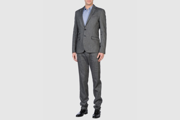 CNC Costume National Grey Linen Suit CNC Costume National Grey Linen Suit