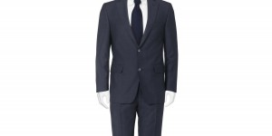 Daks 'Murphy' Two Button Navy Suit 1