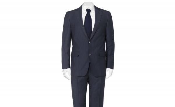 Daks Murphy Two Button Navy Suit 1 Daks Murphy Two Button Navy Suit