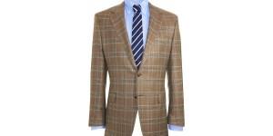 Hickey Freeman 'Astor' Plaid Sportcoat