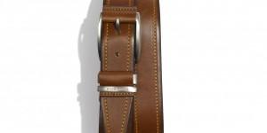 Hugo Boss 'Sody' Stitched Leather Belt