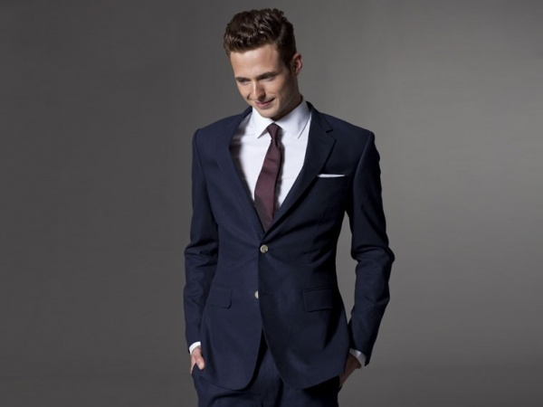Indochino Linen Suit Indochino Navy Linen Suit