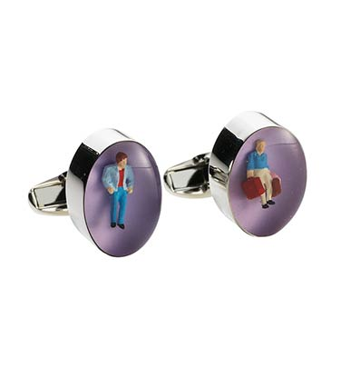 Paul Smith Cufflinks with Figure Paul Smith Cufflinks with Figure