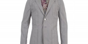 Paul Smith Prince of Wales Cotton Blazer 1