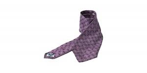 Paul Smith Purple Print Wool Tie