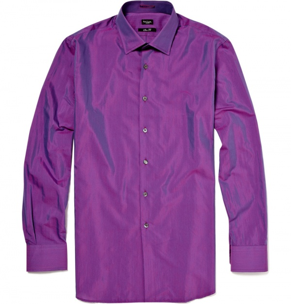 Paul Smith Two Tone Silk Shirt Paul Smith Two Tone Silk Shirt