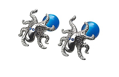 Tateossian London Silver Octapuss Cufflinks.jpg Tateossian London Silver Octopus Cufflinks