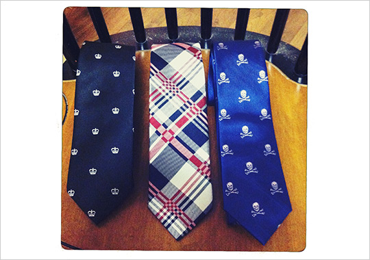 Vittorio J Necktie Collection Vittorio J Necktie Collection