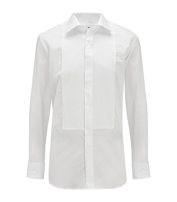 Canali Striped Bib Dress Shirt1 Canali Striped Bib Dress Shirt
