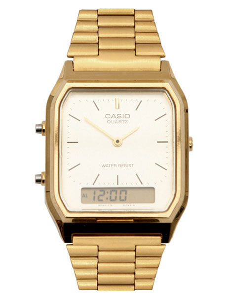 Casio Gold Retro Dial Digital Watch Casio Gold Retro Dial Digital Watch
