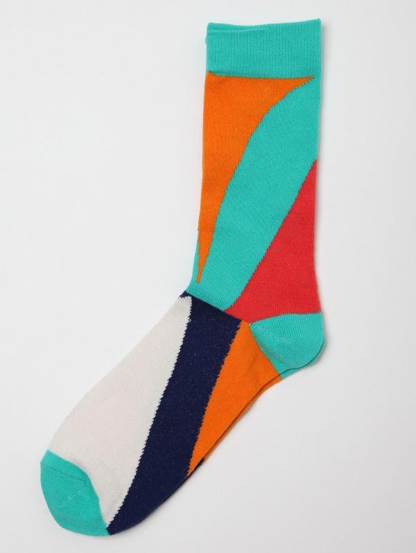 Humor Multi Coloured Socks Humor Foot 1 Multicoloured Socks