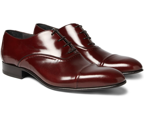 Lanvin Oxford Leather Brogues1 Lanvin Oxford Leather Brogue