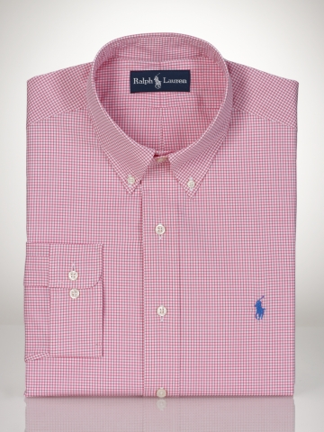 Ralph Lauren Pink Check Shirt Ralph Lauren Prep Check Shirt   Pink