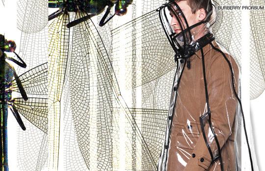 burberry prorsum transparent rain coat Burberry Prorsum Transparent Raincoat