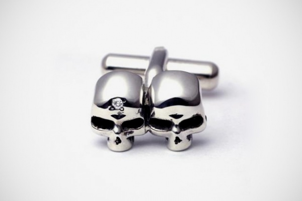 jam home made skull cuff links 1 JAM HOME MADE Skull Cufflinks