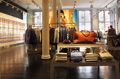 suitsupply nyc soho manhattan store boutique custom clothier Suitsupply NYC Soho Store