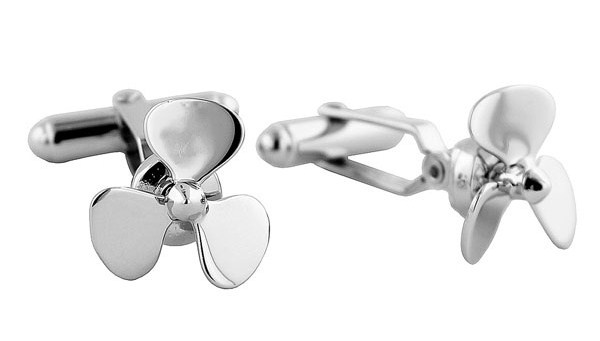 David Donahue Propeller Cuff Links David Donahue Propeller Cuff Links