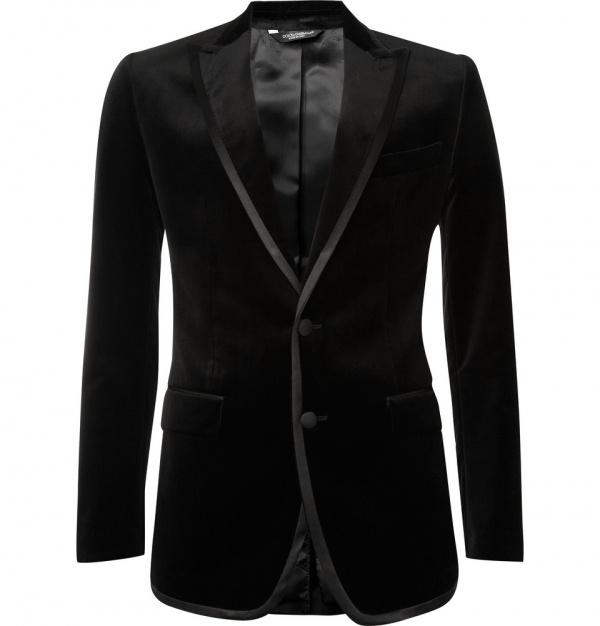 Dolce Gabbana Velvet Tuxedo Jacket Dolce & Gabbana Velvet Tuxedo Jacket