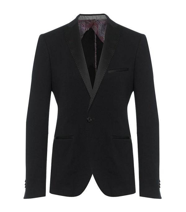 Etro Jersey Tux Style jacket Etro Tux Style Jersey Blazer