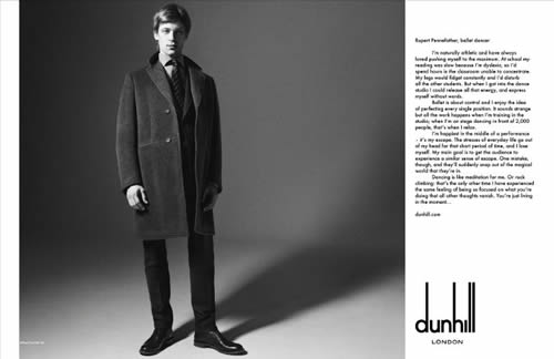 Dunhill Voice Campaign for Fall Winter 2011 3 Dunhill Voice Print Campaign for Fall / Winter 2011