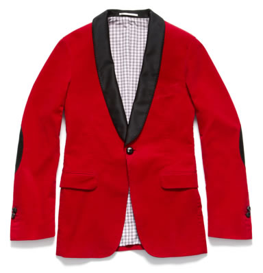 GANT by Michael Bastian Corduroy Smoking Jacket GANT by Michael Bastian Corduroy Smoking Jacket