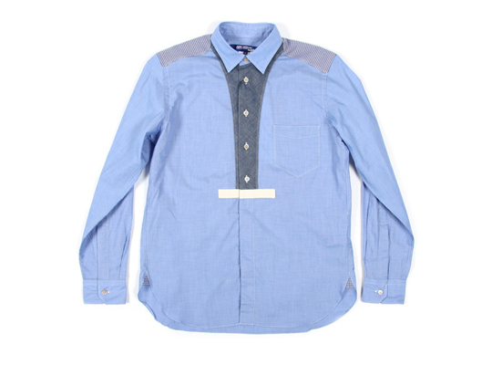 Junya Wantanabe MAN Contrast Placket Shirt