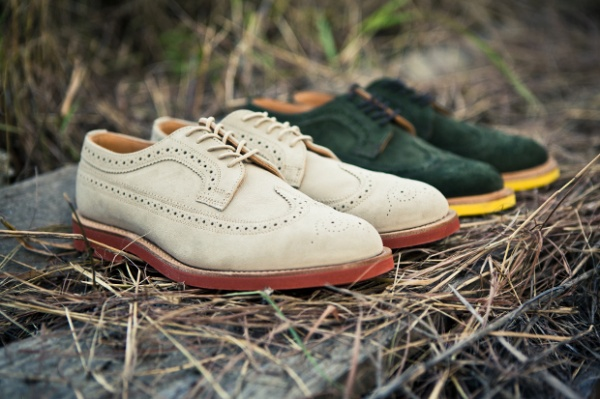 Mark McNairy Longwing Brogues for Fall 2011 Mark McNairy Longwing Brogues for Fall 2011