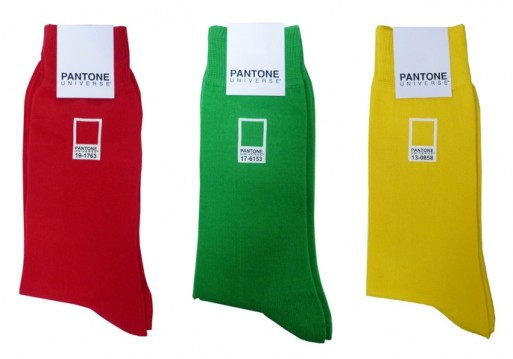 Pantone Universe socks asv 513x359 Pantone Universe Socks