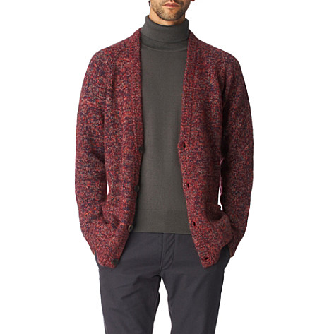 Paul Smith Multicoloured CardiganRED Paul Smith Multicoloured Cardigan