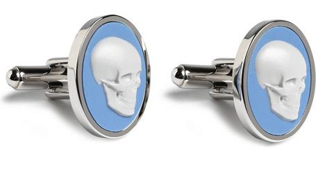 Paul Smith Skull cufflinks Paul Smith Cameo Skull Cufflinks
