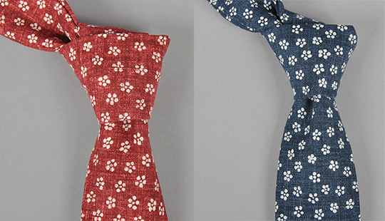 The Hill Side Cherry Blossom Neckties The Hill Side Cherry Blossom Neckties