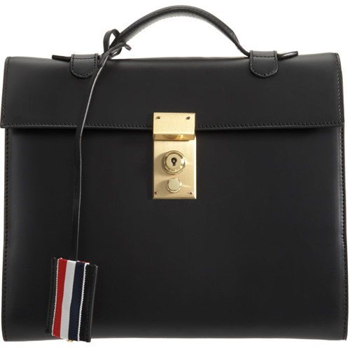 Thom Browne iPad Briefcase1 Thom Browne iPad Briefcase
