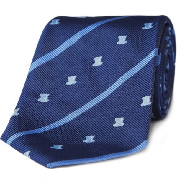Turnbull Asser Top Hat Tie Turnbull & Asser Top Hat Tie
