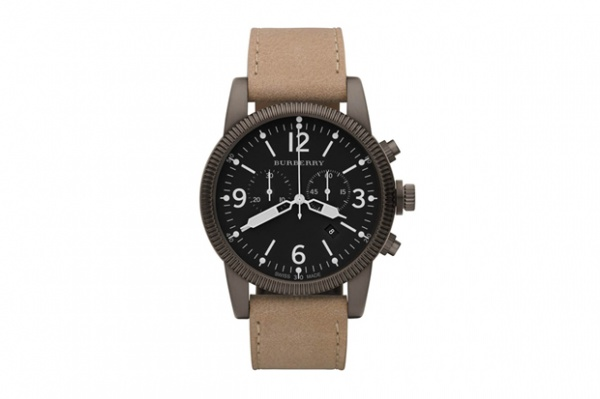 burberry brit chronograph watch 1 Burberry Brit Chronograph Watch