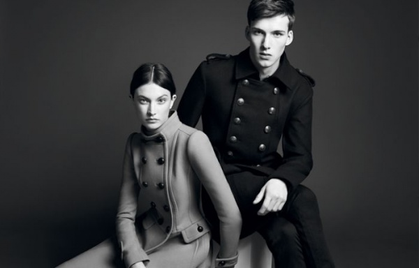 burberryblack1 Johnny George for Burberry Black Label Fall 2011 Campaign