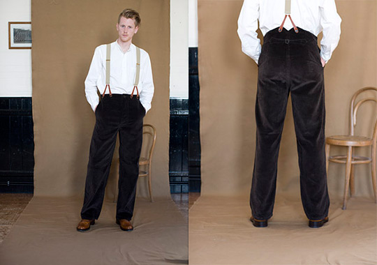 old town highrise pants mens 1 Old Town High Rise Trousers