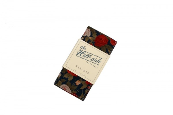 The Hillside Rose Pocket Square1 The Hill Side Large Rose Pocket Square