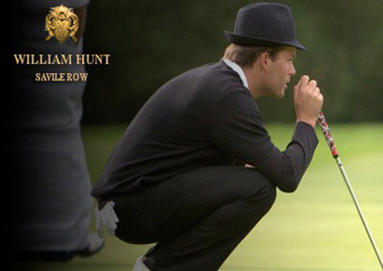 TrilbyTourGolf William Hunt of Savile Row Video